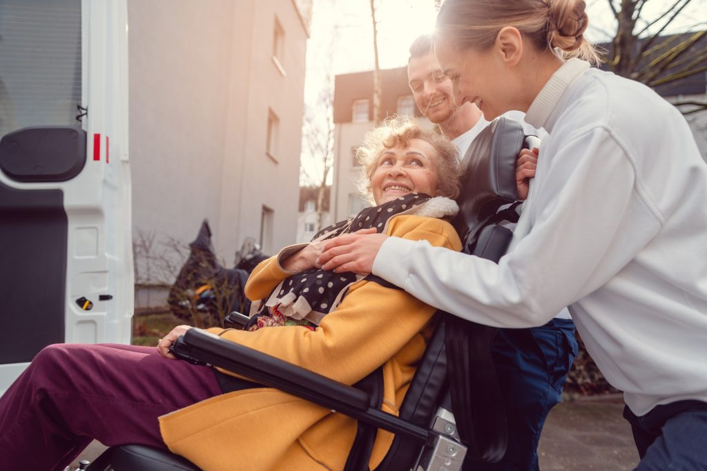 transport and support at take five homecare